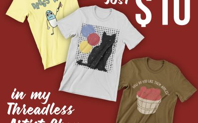 Tees are $10 This Weekend on Threadless
