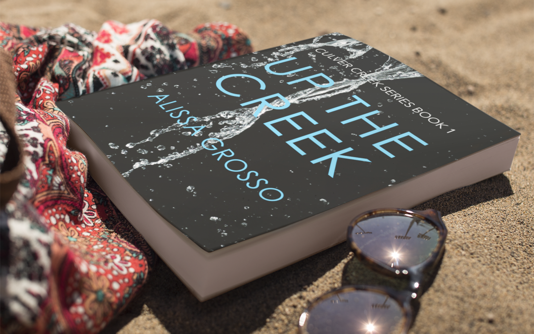 """Kirkus calls Up the Creek """"A taut, gripping mystery"""""""