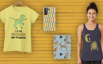 Skateboards and Dinosaurs and Deer, Oh My, What's New This Week on Redbubble