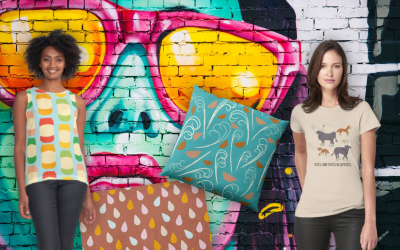 What's new this week in my Redbubble store?