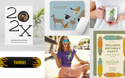 This Week on Zazzle: Stuff for Grads, Skaters, the Vaccinated and More