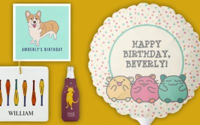 Juggling Hamsters and Corgis: This Week's New Zazzle Designs
