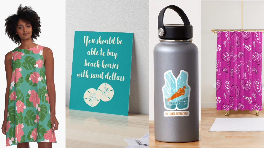 Hints of Summer: This Week's New Redbubble Designs